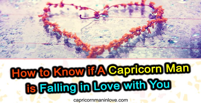 Man back why coming capricorn does keep How to